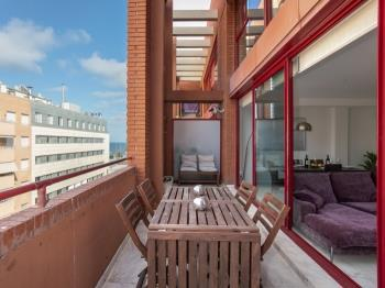 Mediterranean duplex with SEA VIEWS and terrace - Apartamento en Barcelona